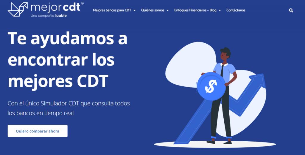Mejor CDT página web