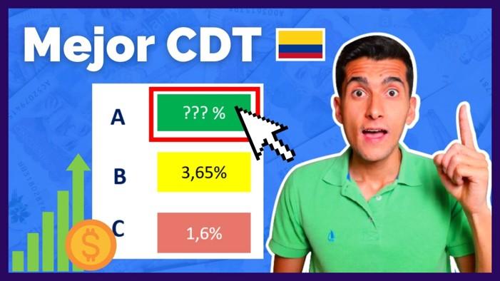 Mejor CDT en Colombia